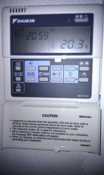 daikin heat pump instructions