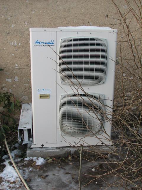 Chaleurterre afficher le sujet airwell air eau sph for Pompe a chaleur technibel