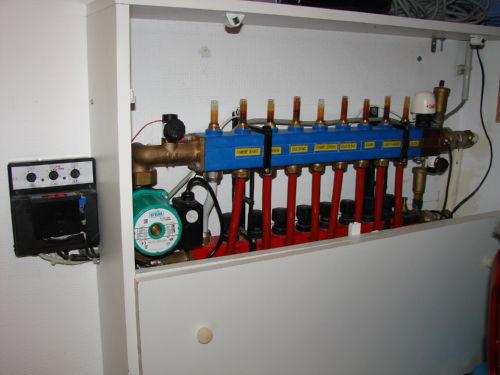 Regulation plancher chauffant rehau - Reglage nourrice plancher chauffant rehau ...