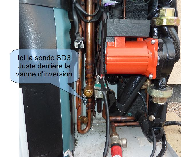 Chaleurterre afficher le sujet attention la sonde sd3 for Pompe a chaleur technibel