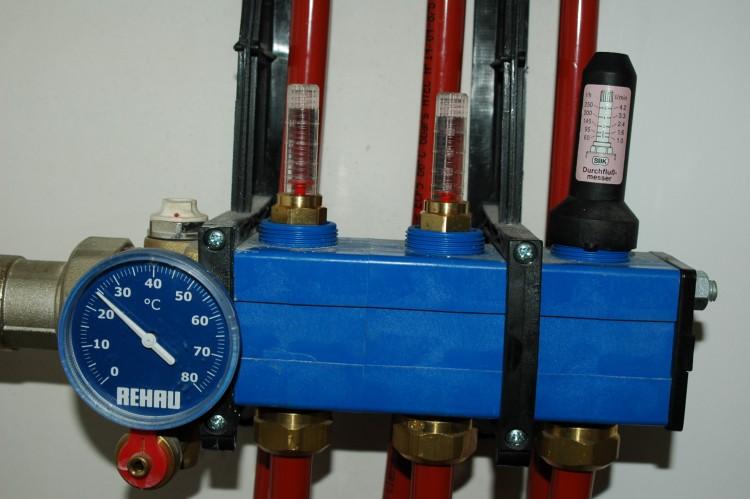 Rehau regulation plancher chauffant